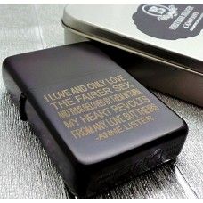 Anne Lister Gentleman Jack Quote Lighter