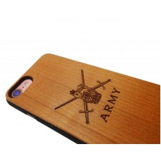 Army iPhone 7 Personalised Wood Case