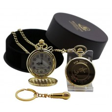 Bob Dylan Pocket Watch & Microphone Keyring