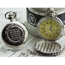 Winston Churchill Quote Pocket Watch