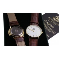 Freemason Luxury Real Leather Wristwatch