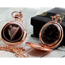 Celtic Harp Pocket Watch
