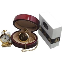 Legal Scales of Justice Pocket Watch