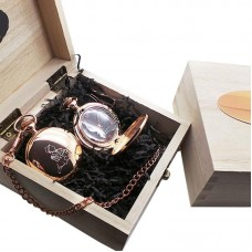 Frank Sinatra Rose Gold Plated Pocket Watch